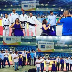 RIO 2016: Prefeito inaugura a Arena Carioca 3
