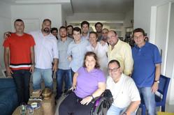 Líderes das torcidas organizadas do Flamengo se reúnem