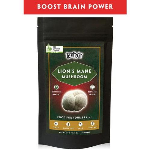 Lions Mane Mushroom - Teelixir