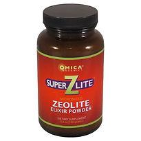 SuperZLite Elixir Zeolite Powder - Omica Organics