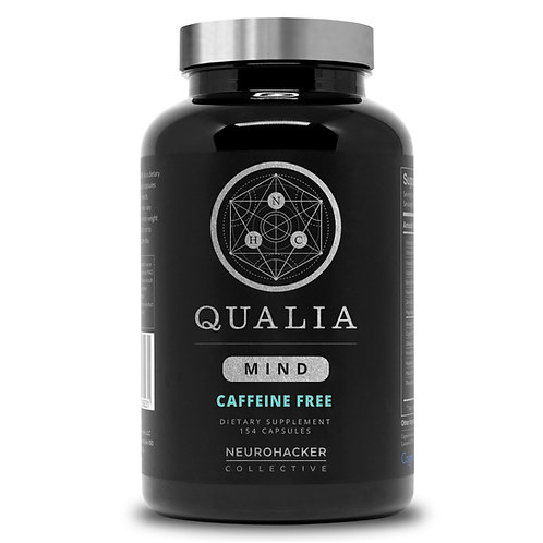 Qualia Mind Caffeine Free (154 Capsules) - Neurohacker Collective