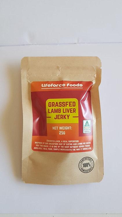 Lamb Liver Jerky - Lifeforce Foods