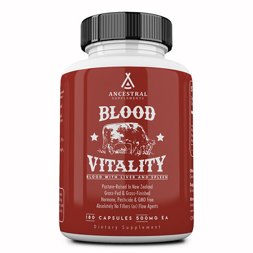 Blood Vitality - Ancestral Supplements
