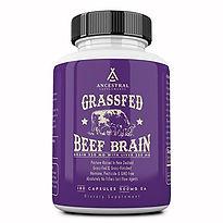 Grassfed Beef Brain - Ancestral Supplements