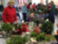 Rye garden club holiday greens sale
