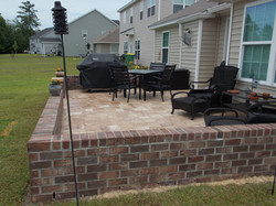 New patio and surround