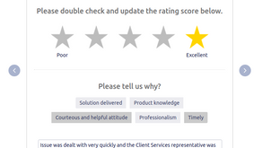 Regular Customer Satisfaction Surveys Introduced