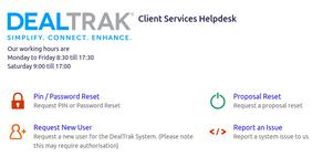 DealTrak Launches New Client Portal