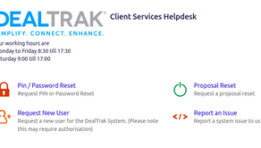 DealTrak Launches New Client Portal