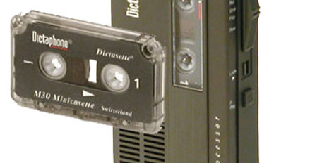 Minicassette / Dictaphone Audio Tape to CD or Mp3