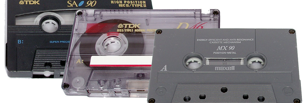 Audio Cassette Tape to CD or Mp3