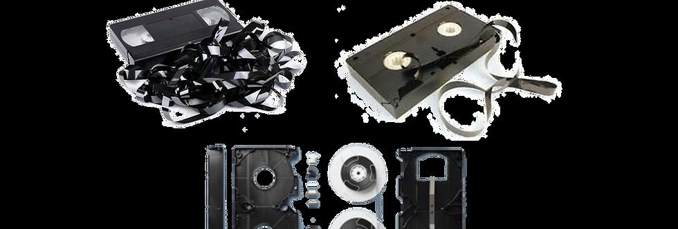 Video Tape Repair - VHS, Digital8, Hi8, Betamax, MiniDVD Repairs