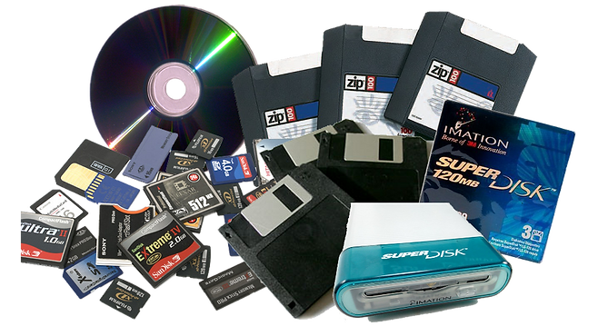 DVD to USB Conversion, Floppy Disk, Zip Disk, Super Disk, Jazz Disk, Memory Card, Hard Drive File Recovery