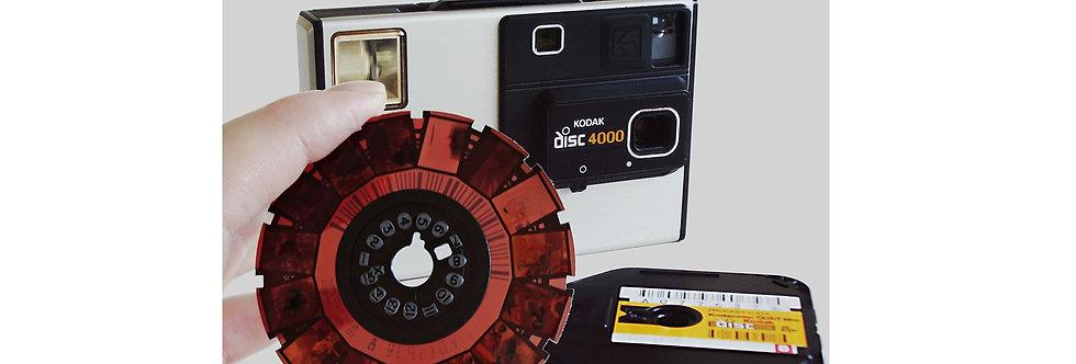 Digitize Disk Film Negatives Scanned to (JPEG) on USB Flash Drive