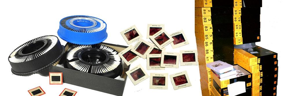 35mm Slides transferred to digital, JPEG, or USB