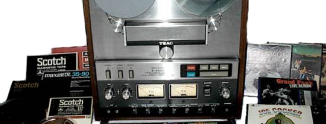 "6"" Audio Reel to Reel Tape to CD or Mp3"