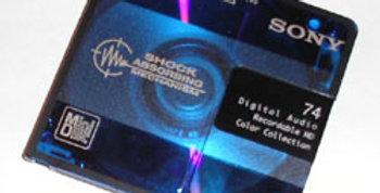 Mini-Disc Audio Tape to CD or Digital