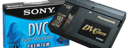MiniDV Video Tape to DVD or Digital!