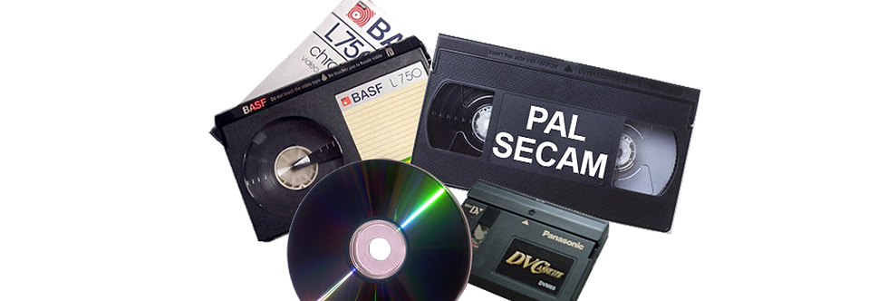 PAL/SECAM Video Transfers_Conversions to DVD or Digital!