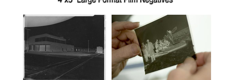 Convert 4x5 inch Large Format Film Negatives to Digital on USB