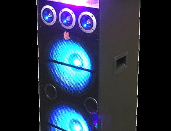 iPhoenix SH-68B Rechargable Bluetooth DJ & Karaoke Speaker System