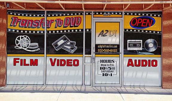 AZ Digital Transfers_Film_Video_Audio_Slides_To DVD & CD Digitizing Services