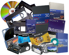 Video Tape Conversions to DVD & Digital