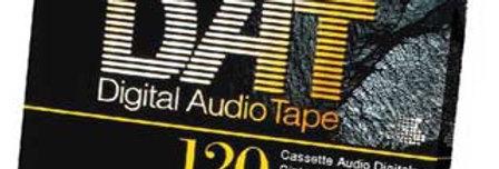 DAT Audio Cassette Tape to CD or Digital