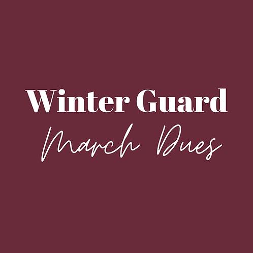 Winter Guard Fee Installment -Mar