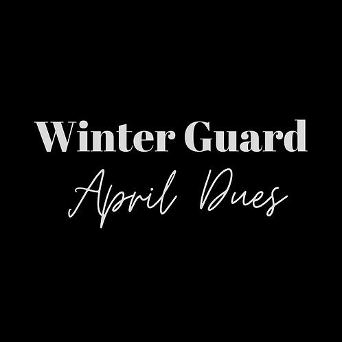 Winter Guard Fee Final Installment -Apr.