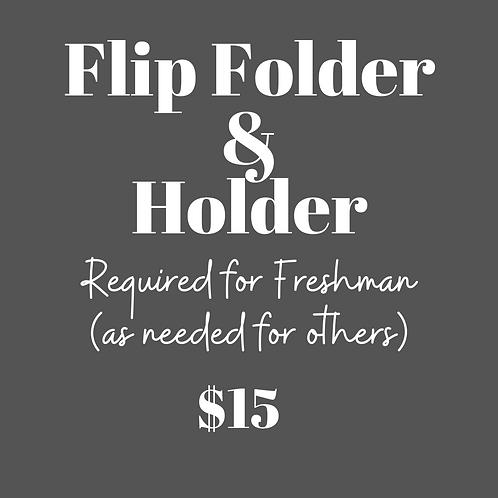 Flip Folder & Holder