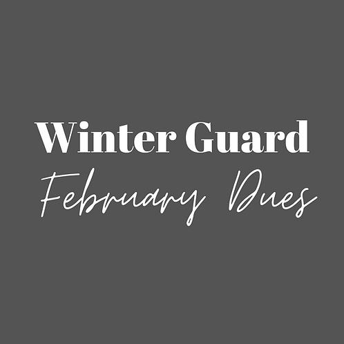 Winter Guard Fee Installment - Feb