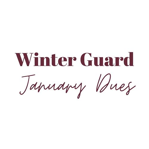 Winter Guard Fee Installment - Jan