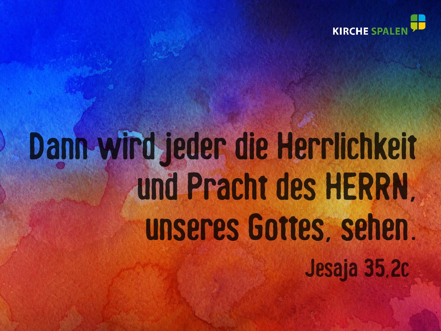 Jesaja35,2c