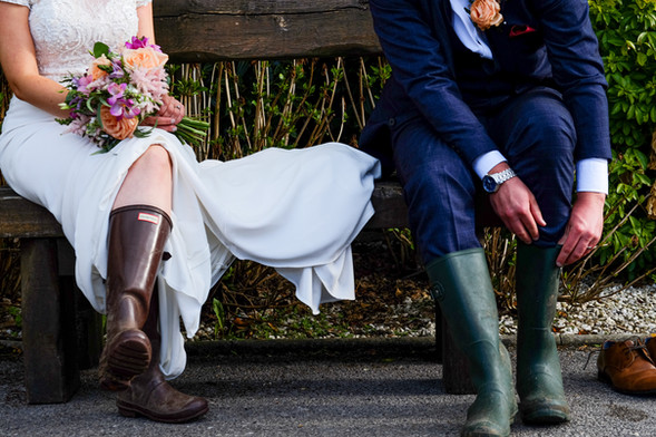 Quirky wedding moments!