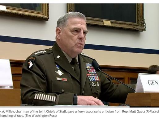 """Lãnh đạo quân đội Mỹ: """" Tôi muốn hiểu cơn thịnh nộ da trắng. Và tôi cũng là một người da trắng"""""""