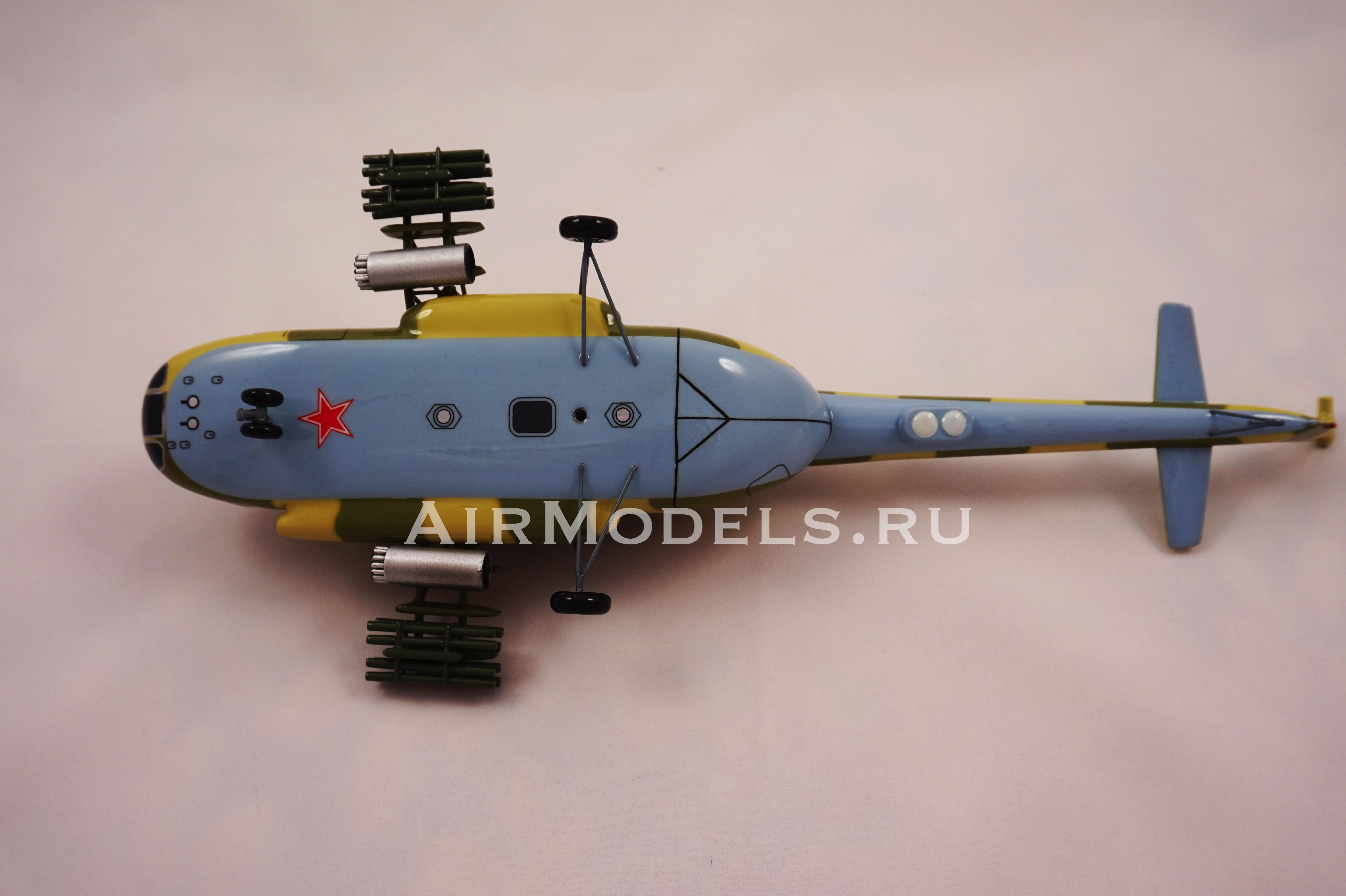 Модель вертолетаМи-8 (Масштаб1:48)