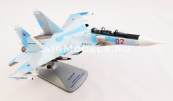 Модель самолета Су-30СМ в масштабе 1:48.
