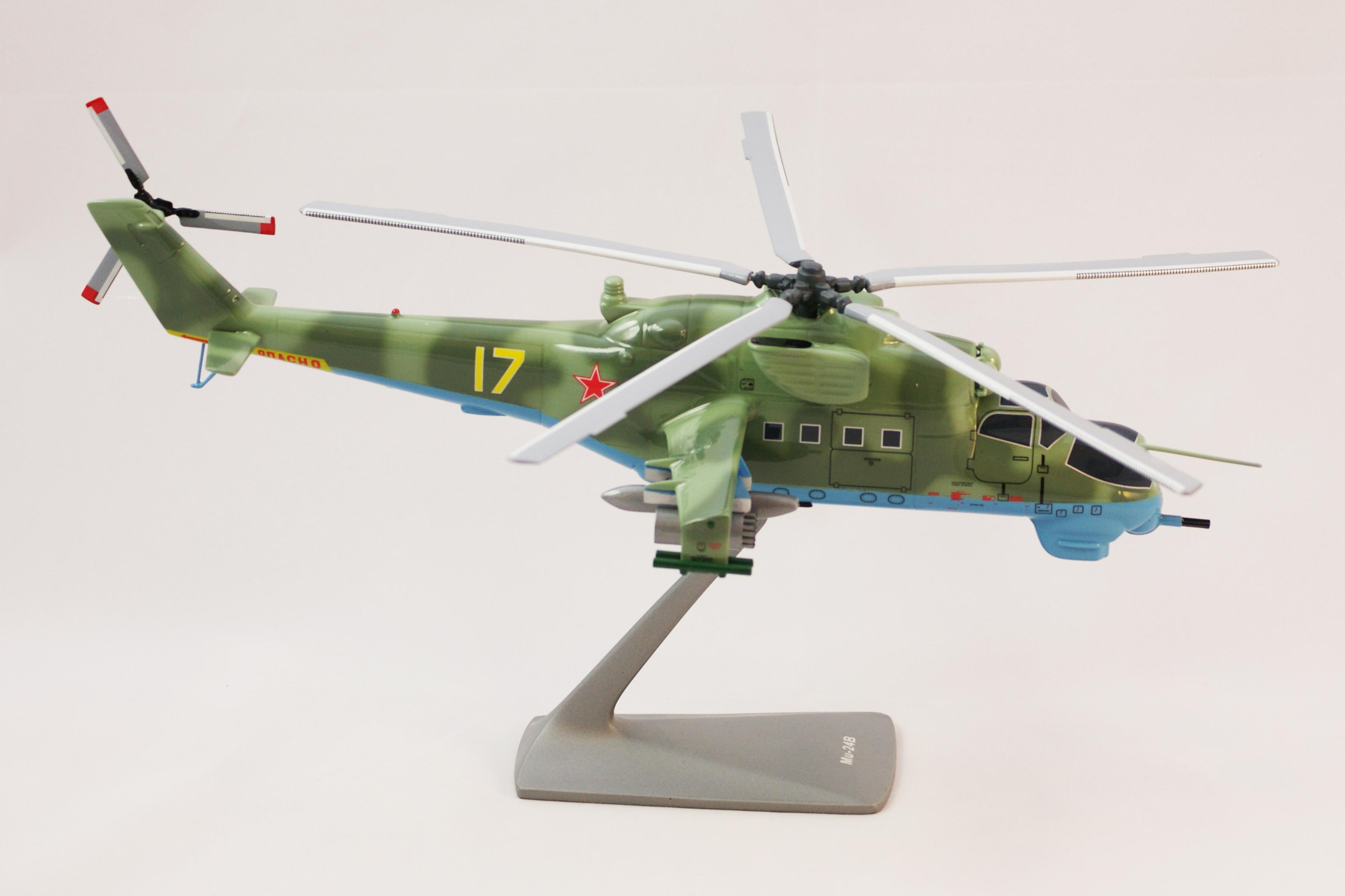 Ми-24В 1_48 в камуфляжной окраске