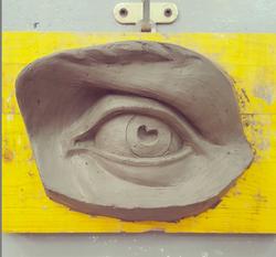 Copy of Michelangelo's David Eye