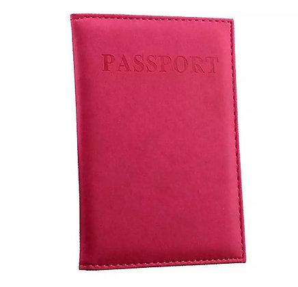 כיסוי מעוצב לדרכון אדום