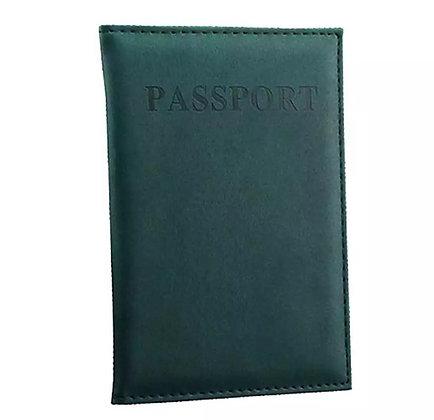 כיסוי מעוצב לדרכון ירוק