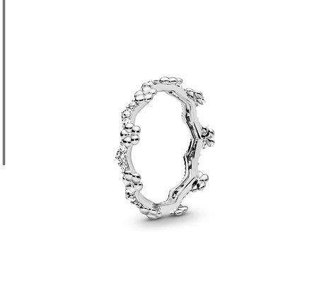 טבעת כתר פרחים