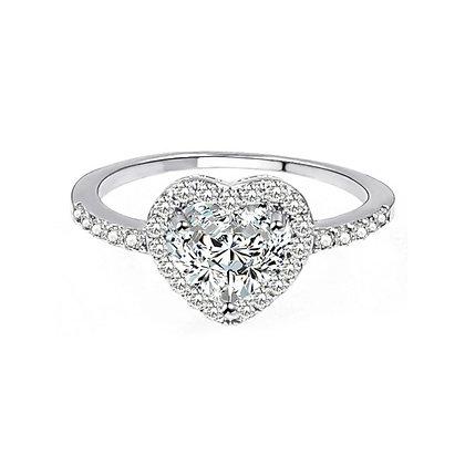 טבעת לב אבן