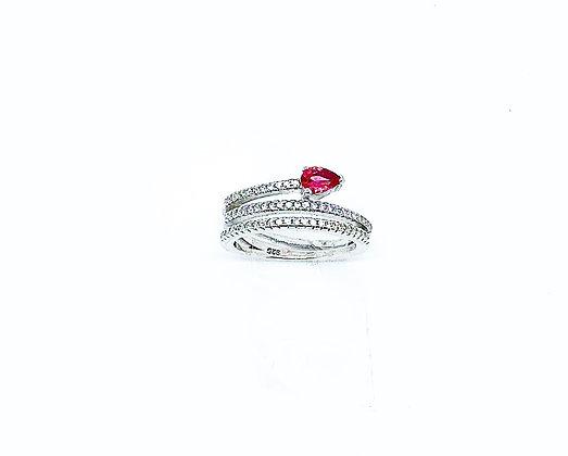 טבעת מטפסת אבן ורודה