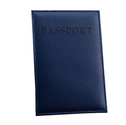 כיסוי מעוצב לדרכון כחול כהה