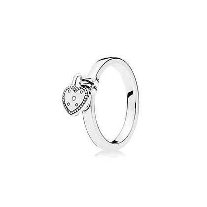טבעת לב מנעול