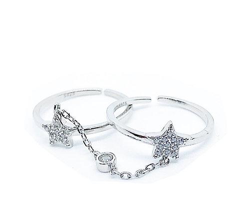 טבעת כפולה כוכב