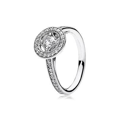 טבעת מעוין משובצת