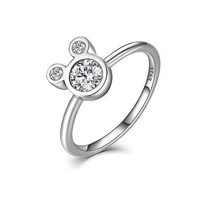טבעת מיקי זרקון פנימי